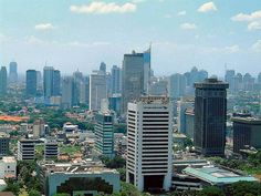 Yakarta, Indonesia | (Skyscrapers) , Yakarta, Indonesia's capital and economic heart of the country..