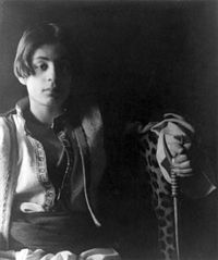 I always imagined Armond from Vampire Chronicles as looking like a young Kahlil Gibran