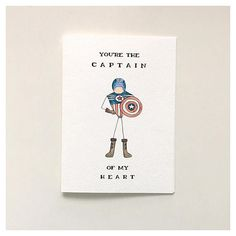 Dad Birthday Card, Birthday Cards For Friends, Bday Cards, Happy Birthday Cards, Anniversary Cards For Boyfriend, Funny Anniversary Cards, Diy Father's Day Cards, Captain America Birthday, Valentines Day Cards Handmade