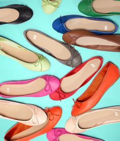flats in every color
