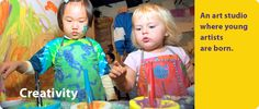 Habitot: There's no time like now to visit Habitot with your 1-5 year old! Exciting hands-on exhibits, drop-in classes and an Art Studio all help children become creative, confident learners.