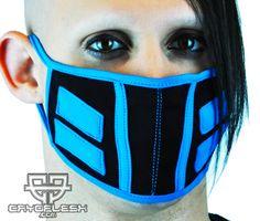 Cryo Tron Mask Black/Blue