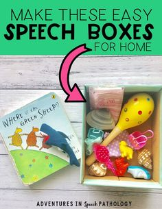 5 fun speech therapy ideas for parents to do at home - Adventures in Speech Pathology Preschool Speech Therapy, Speech Language Therapy, Speech Therapy Activities, Speech And Language, Speech Therapy Autism, Preschool Songs, Communication And Language Eyfs, Toddler Speech Activities, Speech Therapy Organization