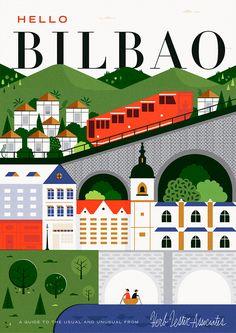 Hello Bilbao by Martín Azambuja #editorial #design