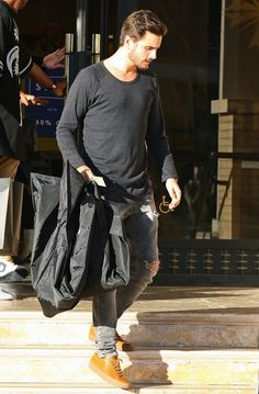 Scott Disick wears Common Projects Sneakers out Shopping in Beverly Hills | UpscaleHype