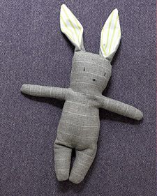 Stuffed Menswear Bunny | Step-by-Step | DIY Craft How To's and Instructions| Martha Stewart