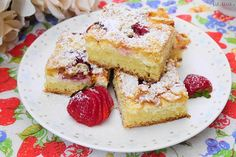Recept na bublaninu bez cesta: Lahodná s akýmkoľvek ovocím! Cheesecake, Eat, Desserts, Food, Tailgate Desserts, Deserts, Cheesecakes, Essen, Postres