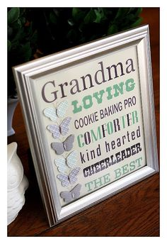 grandma - free printable #eighteen25