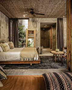 Be Tulum Hotel is designed to showcase the ocean. Take a look at this magnificent Mexican resort in Riviera Maya… Bali Bedroom, Bedroom Red, Interior Design Inspiration, Home Interior Design, Interior Architecture, Resort Santa Barbara, Be Tulum Hotel, Resort Interior, Zen Interiors