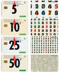 Karel Martens, Dutch telephone cards