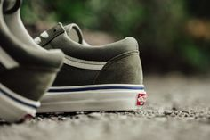 c100ea71a7d Vans Vault OG Old Skool LX Dusty Olive Best Sneakers