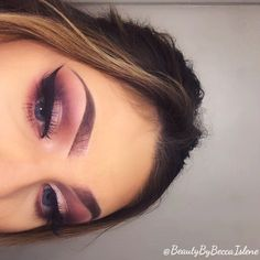 Dust and buss on lid from Naked 3 pallet Burnt orange,red ochre, love letter in crease Modern Renaissance pallet  Dark side outer corner from Naked 3 pallet