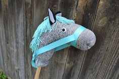 Stick horse tutorial. Birthday present for MJ!