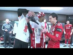 Inside the Wembley dressing room  See more LFC videos at http://www.liverpoolfc.tv/video