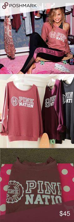 Vs Pink Crew Begonia Brand new Vs Pink Crew. Price is firm. Cheaper on Ⓜ️ercari. Sweaters Crew & Scoop Necks