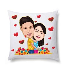 Buy #Christmas cushions for your loved ones. http://bit.ly/1Ec9G0W