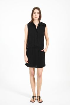 Ryu Deluxe Dress Black by Zadig & Voltaire