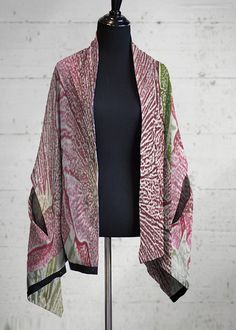 Cashmere Silk Scarf - Abstract Pattern Multi by VIDA VIDA UyT89vPthI