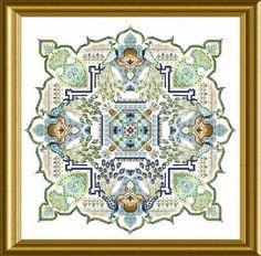 Mystery XIII Peacock Garden - Châtelaine Designs