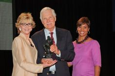 Jane Fonda and Ted Turner, together again...for charity!
