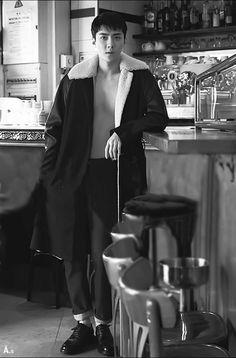 세 훈 Sehun-Korean Vogue Anniversary August Issue 2018 Sehun, Exo Chen, Exo K, Exo 2014, Types Of Boyfriends, Vogue Korea, Fashion Wallpaper, Kim Woo Bin, Kpop