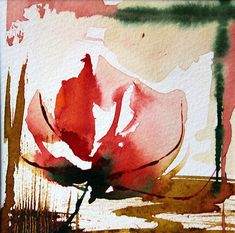 Discover great art by contemporary artist Véronique Piaser-Moyen. Browse artworks, buy original art or high end prints. Abstract Watercolor Art, Watercolor Sketchbook, Abstract Flowers, Watercolor Cards, Watercolor Flowers, Art Floral, Guache, Art Et Illustration, Flower Art