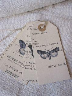 papillons chez Antique Home