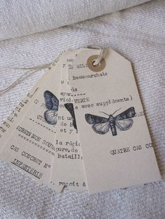 papillons chez Antique Home