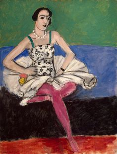 'Ballerina' - c. 1927 - by Henri Matisse (French, 1869-1954) - @Mlle