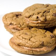Nutella Cream Sandwich Cookies