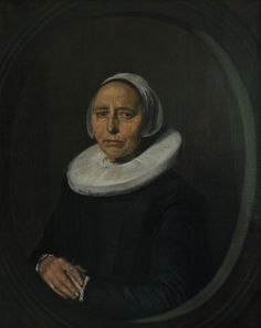 Portrait of a Woman - Frans Hals.  1640.  Oil on canvas.  85.2 x 68.1 cm.  Museum voor Schone Kunsten, Ghent, Belgium.