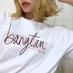 BTS We Are Bangtan Unisex T-Shirt/bts kpop/bts v/bts jungkook/bts wings/bts merch/bts army/bts members shirt/bts jimin/bts suga/BTS T-shirt