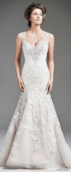 Kenneth Winston Spring 2016 Wedding Dress