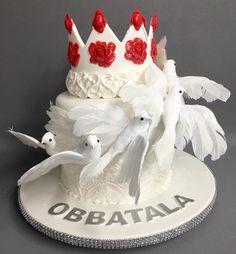 Yoruba Obbatala cake
