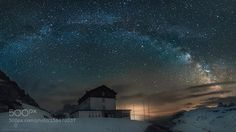 The arch over me  http://ift.tt/1qcnnrZ  Cold night spent in harmony with my 3 friends Stefano Caccia Andrea Sagui & Andrea Baron.   When I left the camp I looked at the sky and the first thing I thought is  create the arch above the Auronzo refuge.  Image credit: http://ift.tt/1Pakzky Visit http://ift.tt/1qPHad3 and read how to see the #MilkyWay  #Galaxy #Stars #Nightscape #Astrophotography