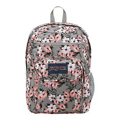 "JanSport Digital Big Student Backpack For 15"" Laptops, Pretty Posey"