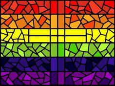 Jesus in Love Blog: Rainbow Christ Prayer: LGBT flag reveals the ...