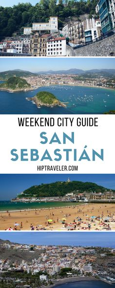 The complete weekend guide to visiting San Sebastian, Spain. Things to do including top beaches, restaurants, bars and food + best accommodation options. Travel in Europe.   Blog by HipTraveler: Bookable Travel Stories from the World's Top Travelers #SanSebastian #Spain