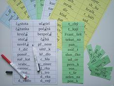 Produkt - Sborník kartiček - měkké a tvrdé souhlásky, slova s DĚ, TĚ, NĚ, BĚ, PĚ, VĚ, MĚ Microsoft, Periodic Table, Diagram, Map, Periodic Table Chart, Periotic Table, Location Map, Maps