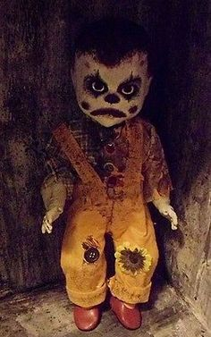 OOAK-Horror-Doll-Evil-Killer-Zombie-Clown-Baby