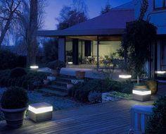 Illuminazione Del Giardino, Come Installare Un Impianto Luci In Giardino
