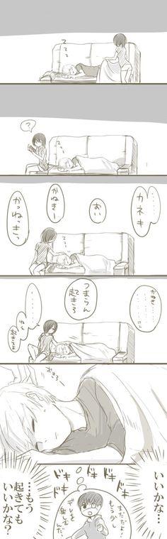 Kaneki x Touka // TouKen