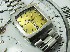Vintage Rado NCC 505 Swiss made Gents Automatic.