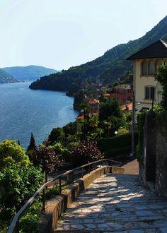 """coiour-my-world: """"Moltrasio, Italy ~ Lake Como, Lombardy """" #italianholidaystravel"""