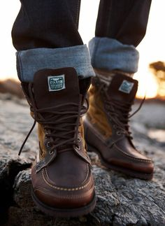 Osmore Rich Brown #Boots by Filson