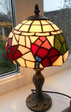 VINTAGE TIFFANY STYLE LAMP ~ SOLD ON MY EBAY SITE LUBBYDOT1