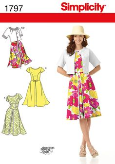Simplicity Creative Group - Misses' Dresses and Jacket:
