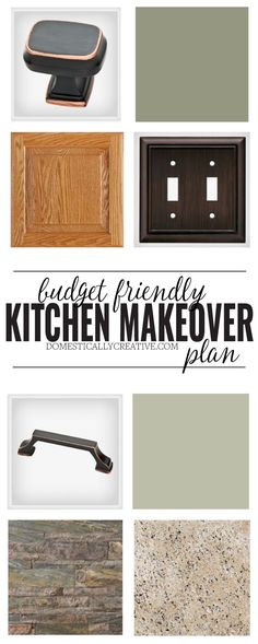 A kitchen stuck in the 90s is getting an update on a budget!