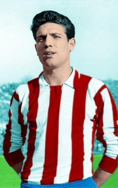 Grosso jugó cedido en el Atlético de Madrid en 1964.