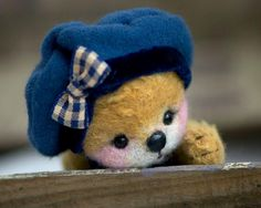 Teddy bear by Jenny Johnson.  Oh my gosh!  The sweetest one ever!